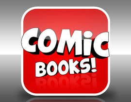 #17 cho Icon or Button Design for iOS comic book icon bởi saulosrv