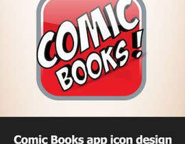 #24 para Icon or Button Design for iOS comic book icon por dirav