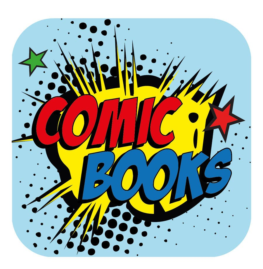 Inscrição nº                                         6                                      do Concurso para                                         Icon or Button Design for iOS comic book icon