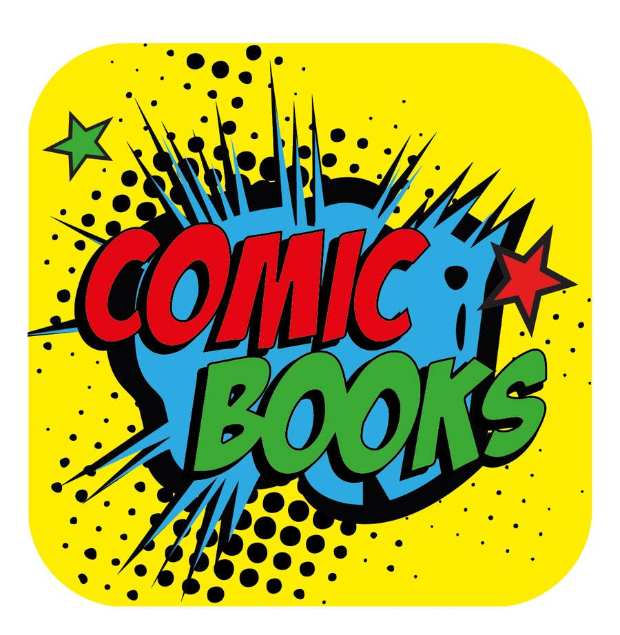 Inscrição nº                                         7                                      do Concurso para                                         Icon or Button Design for iOS comic book icon