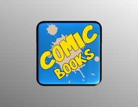 #57 cho Icon or Button Design for iOS comic book icon bởi gwcscsathsara