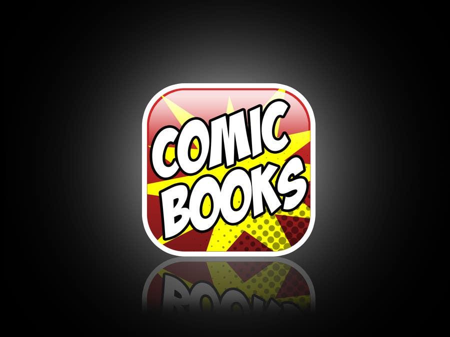Inscrição nº                                         46                                      do Concurso para                                         Icon or Button Design for iOS comic book icon