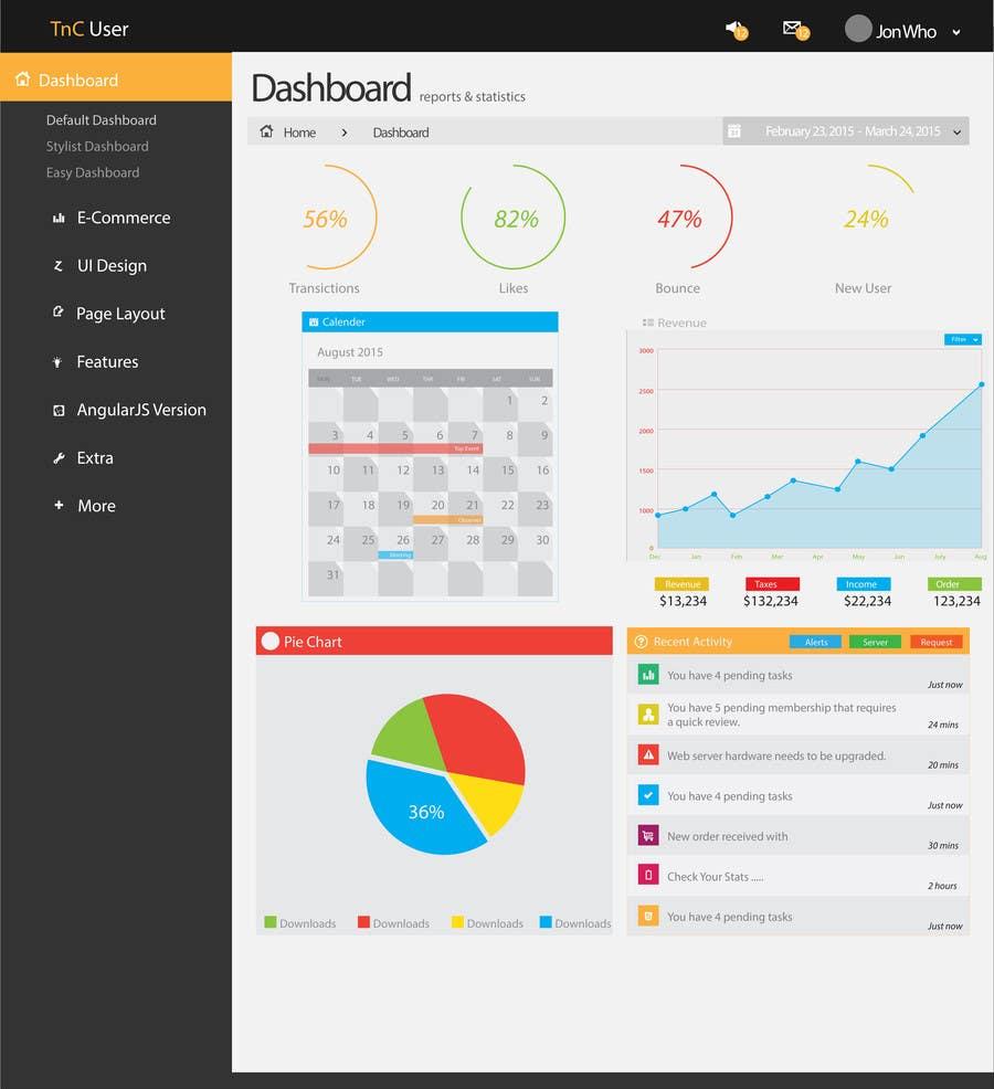 Participación en el concurso Nro.4 para Design a Web Page Mockup for SaaS web application