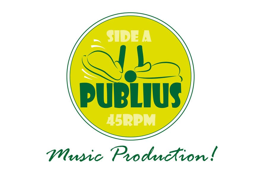 Contest Entry #                                        8                                      for                                         Design a Logo for Publius Music Production