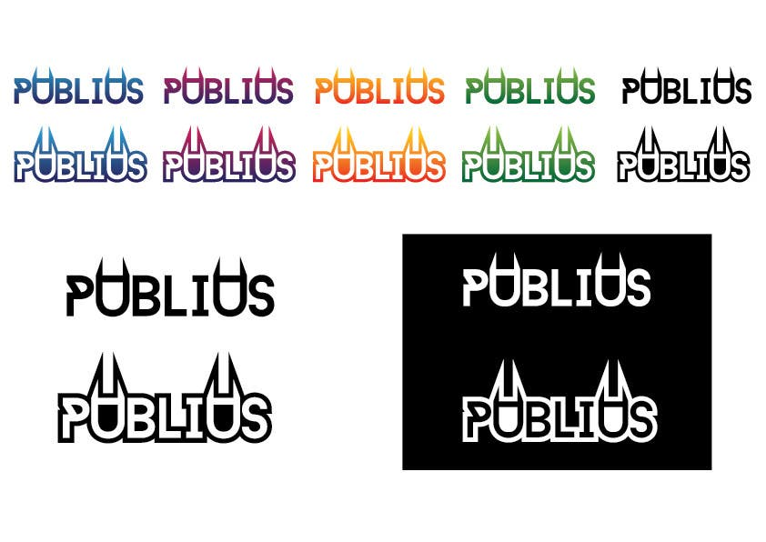 Contest Entry #                                        16                                      for                                         Design a Logo for Publius Music Production