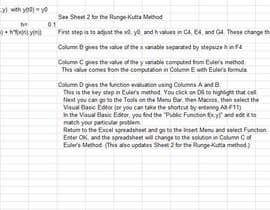 mehmoodfaisal61 tarafından solve set of multi differential equations using excel için no 8