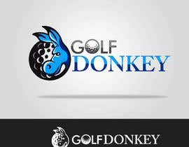 #19 para Design a Logo for Golf Donkey por nyomandavid