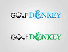 #38 para Design a Logo for Golf Donkey por nyomandavid