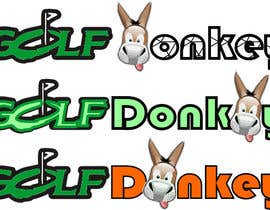 #47 para Design a Logo for Golf Donkey de nishantjain21