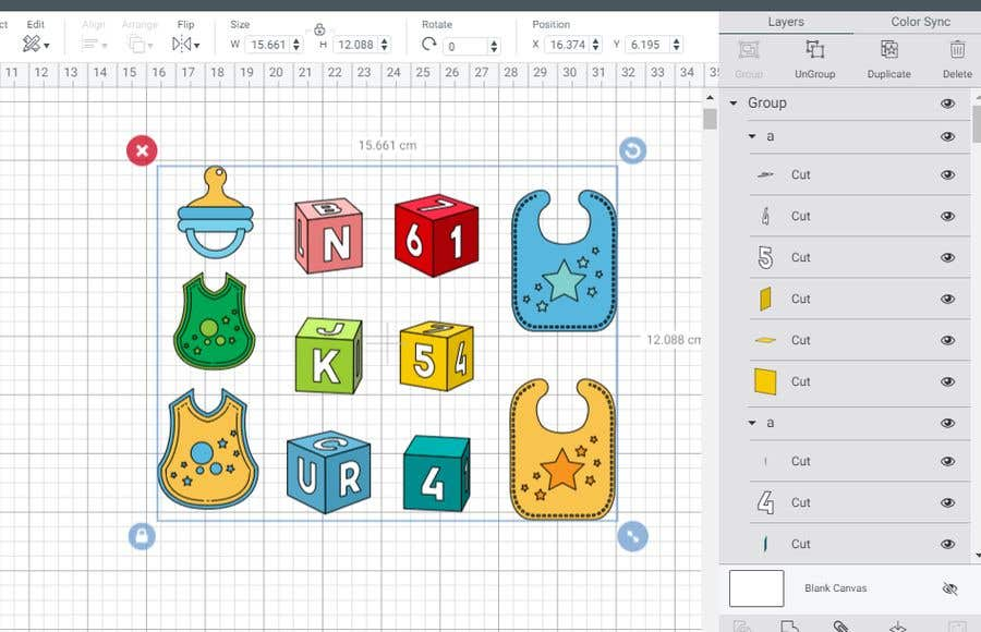 Kilpailutyö #                                        57                                      kilpailussa                                         Original Clipart Design, Baby Clipart