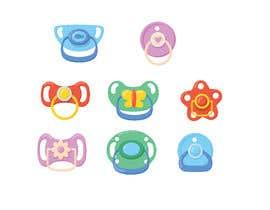 Nro 59 kilpailuun Original Clipart Design, Baby Clipart käyttäjältä sdesignworld