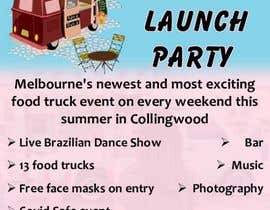 #16 for A6 event invitation for food truck launch party by AkS0409