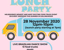 #13 for A6 event invitation for food truck launch party by mijan2021