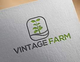 #38 untuk Vintage farm logo for cary's farm.  It's grows microgreens locally oleh farhadhossain014