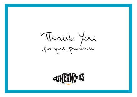 Penyertaan Peraduan #                                        37                                      untuk                                         Help design my thank you card for Amazon
