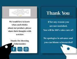 #36 untuk Help design my thank you card for Amazon oleh ExcelBelmiro