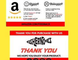 #49 untuk Help design my thank you card for Amazon oleh jhaankitkumar12