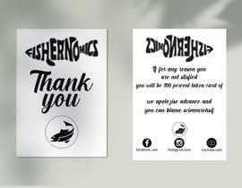 #40 untuk Help design my thank you card for Amazon oleh jahangir206