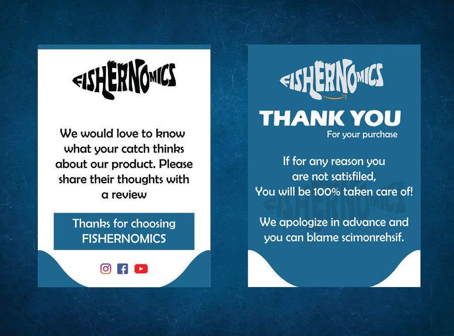 Penyertaan Peraduan #                                        43                                      untuk                                         Help design my thank you card for Amazon