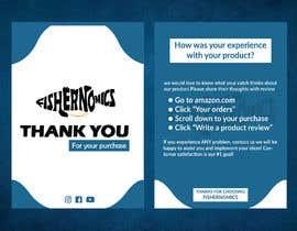 #47 untuk Help design my thank you card for Amazon oleh ashikul353