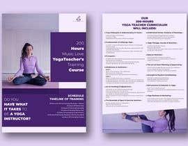 #37 for Design a clean yoga teacher brochure by imranislamanik
