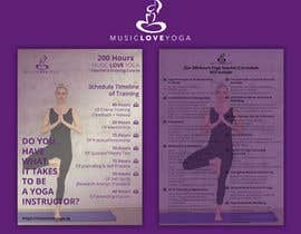 #44 for Design a clean yoga teacher brochure by imranislamanik