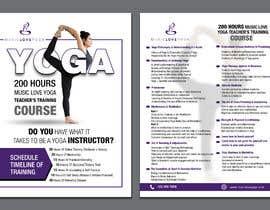 #65 for Design a clean yoga teacher brochure by aamiraami62