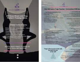 #74 for Design a clean yoga teacher brochure by HabiburRS186