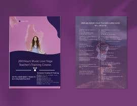 #71 for Design a clean yoga teacher brochure by fojlerabbi000