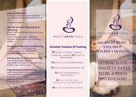 Graphic Design Kilpailutyö #7 kilpailuun Design a clean yoga teacher brochure