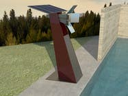 3D Modelling Contest Entry #7 for Do some 3D Modelling for a solar reflector with 4 panels