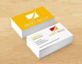 nº 84 pour Design some Stationery for New Business: SWIFT Advice par MNDesign82