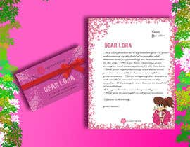 #8 for Letter Template & Hair Scrunchie Packaging by Rajumullah100