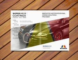 #1 para Cover and Back Cover Design for Brochure - Coating Company targeted for Automotive Industry de LyonsGroup