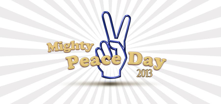 #28 for Logo Design for Mighty Peace Day 2013 by monuch2001