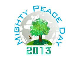 nº 27 pour Logo Design for Mighty Peace Day 2013 par avizone25