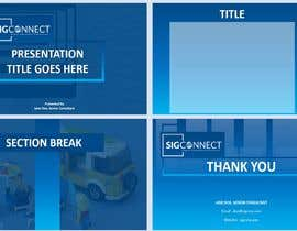 #104 for Create a Powerpoint Template by Professcratic4