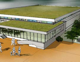 #13 for Design Concepts  for  building design(exterior) of indoor community swimming aquatic/ facilities by sztahuramarkmark