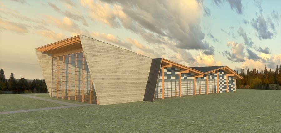 Konkurransebidrag #21 i Design Concepts  for  building design(exterior) of indoor community swimming aquatic/ facilities
