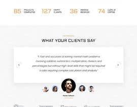 #13 for Looking for best Website Landing Page Designer for My Product Landing Page af foysal0203