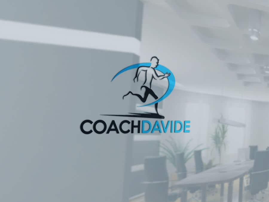 Bài tham dự cuộc thi #                                        142                                      cho                                         Logo for personal trainer - Coach Davide