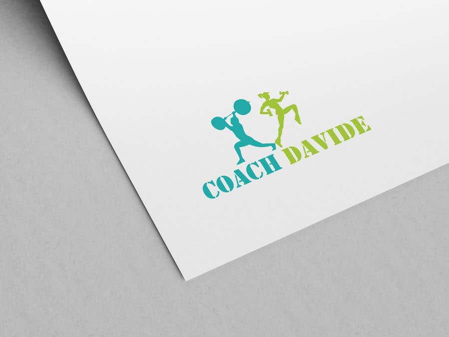 Kilpailutyö #                                        65                                      kilpailussa                                         Logo for personal trainer - Coach Davide