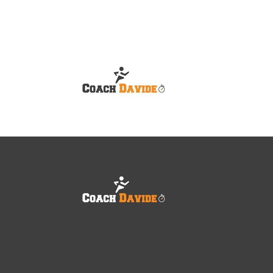 Bài tham dự cuộc thi #                                        63                                      cho                                         Logo for personal trainer - Coach Davide