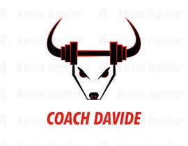#190 cho Logo for personal trainer - Coach Davide bởi aguilarkevin