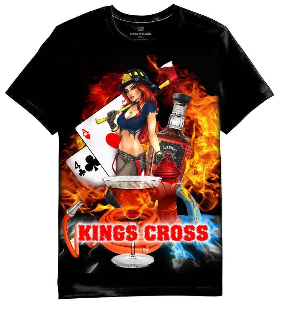 Konkurrenceindlæg #                                        44                                      for                                         Design a logo for our Fire Station Crew T-Shirt