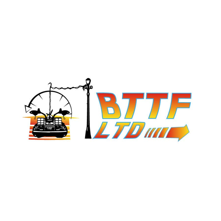 Konkurrenceindlæg #                                        146                                      for                                         Design a logo for a Back To The Future Car Hire Company called BTTF LTD