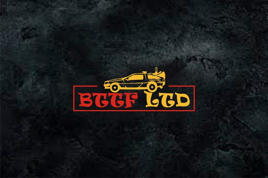 Konkurrenceindlæg #                                        189                                      for                                         Design a logo for a Back To The Future Car Hire Company called BTTF LTD