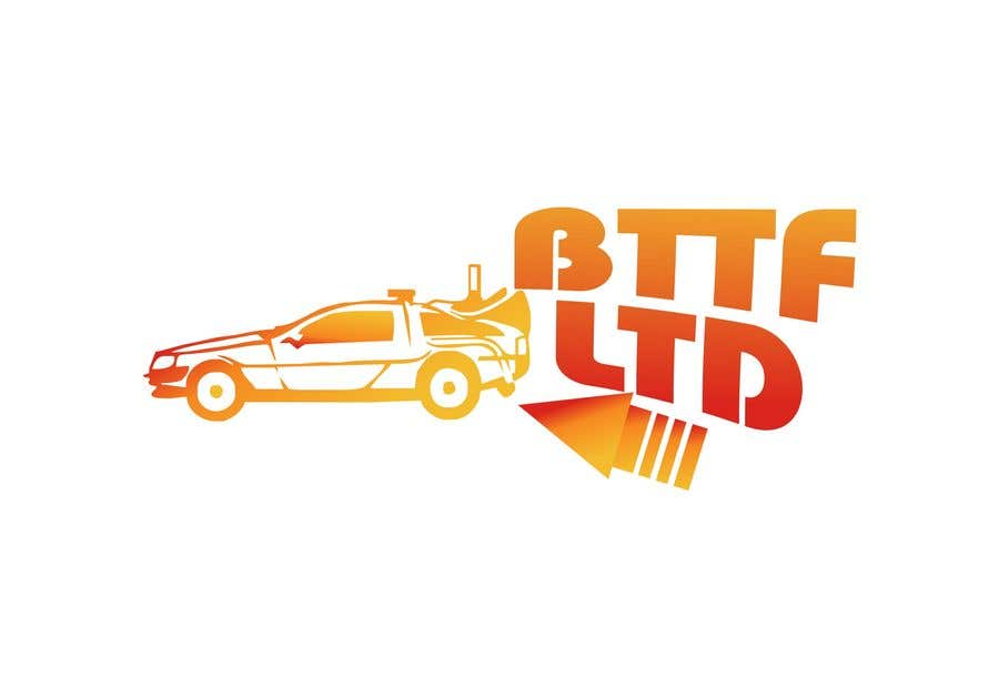 Konkurrenceindlæg #                                        190                                      for                                         Design a logo for a Back To The Future Car Hire Company called BTTF LTD