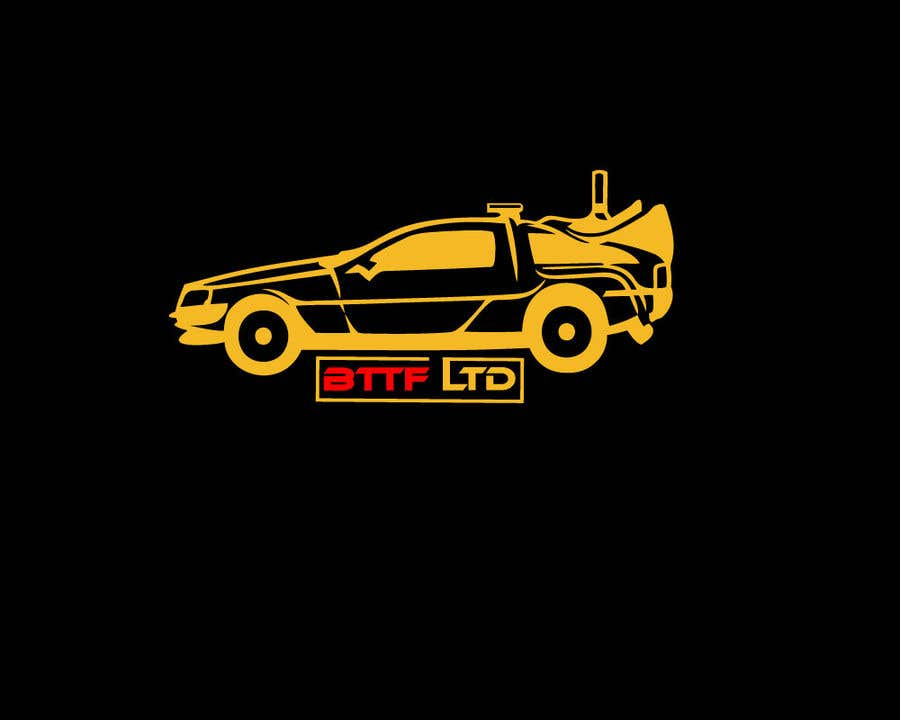 Konkurrenceindlæg #                                        161                                      for                                         Design a logo for a Back To The Future Car Hire Company called BTTF LTD