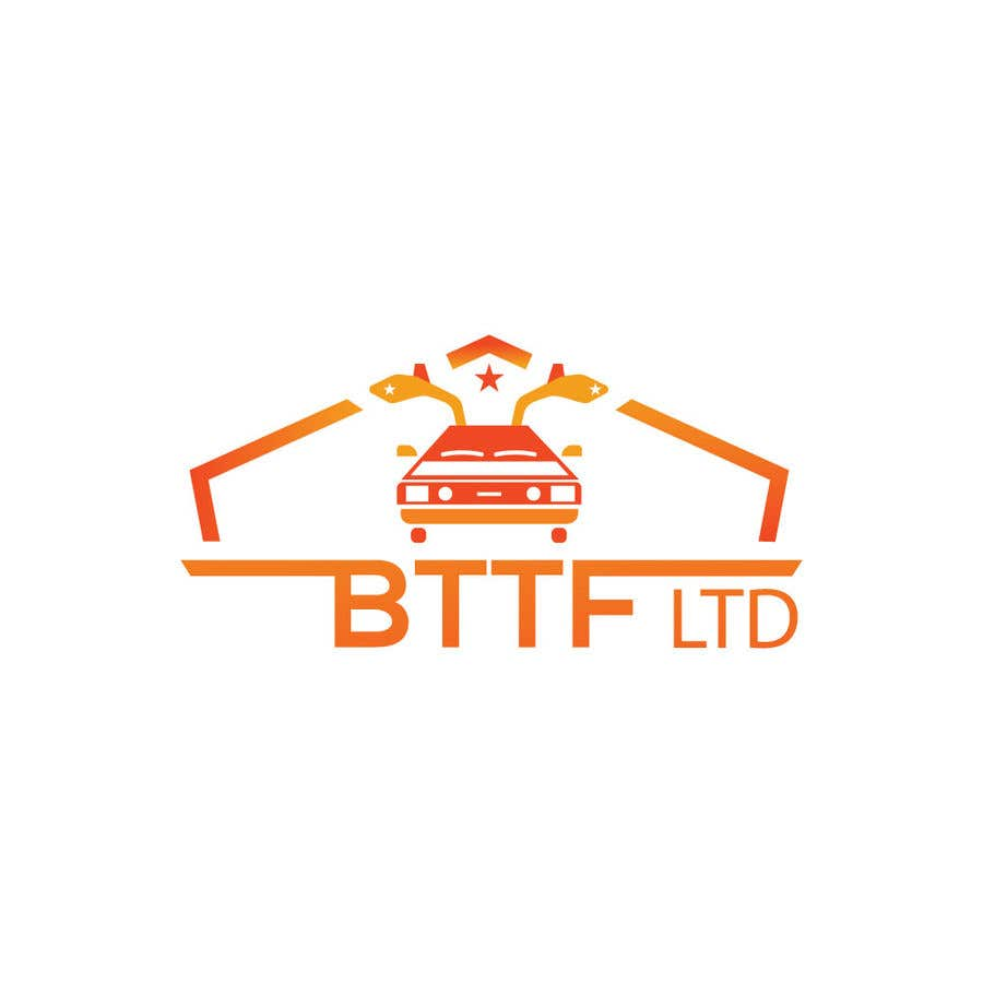Konkurrenceindlæg #                                        93                                      for                                         Design a logo for a Back To The Future Car Hire Company called BTTF LTD